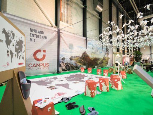 Neuland – Messestand Explo 2017-2018 – Luzern